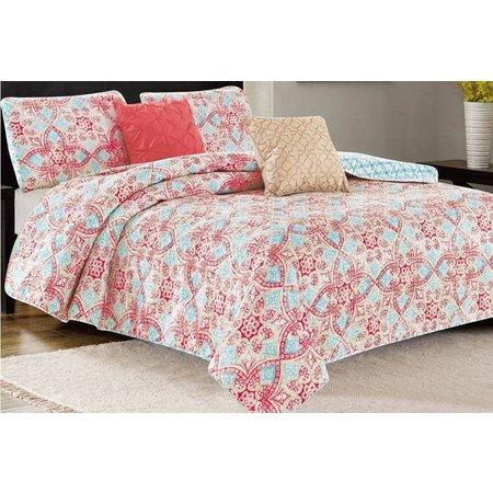 CHD Home Textiles Bellview 5-pc. Quilt Set