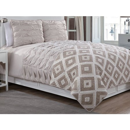 American Home Fashions Darcy Comforter & Quilt Set