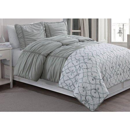 American Home Fashions Grace Comforter & Quilt Set