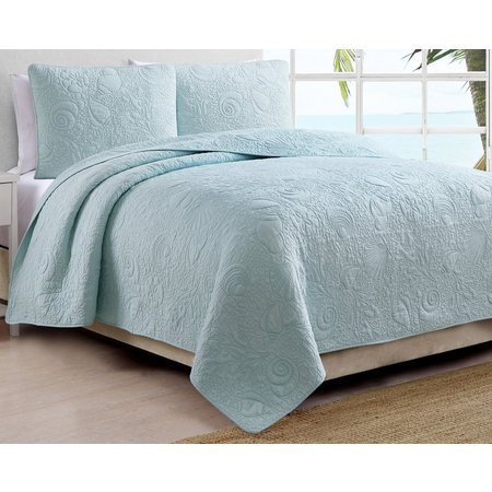 Coastal Living Montauk Quilt Set