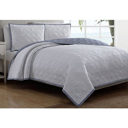 Coastal Living Shell Breeze Quilt Set