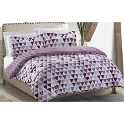 Karma 3-pc. Beat Triangle Comforter Set