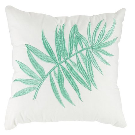 Caribbean Joe Orchid Palm Decorative Pillow
