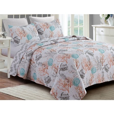 By The Seashore La Playa Quilt Set