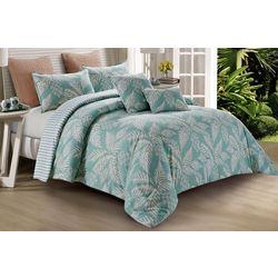 Hedaya Home Eau Palm 5-Pc. Comforter Set