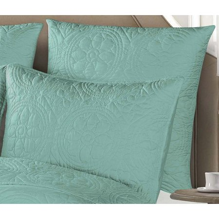 Design Source Mediterranean Tiles Euro Pillow Sham