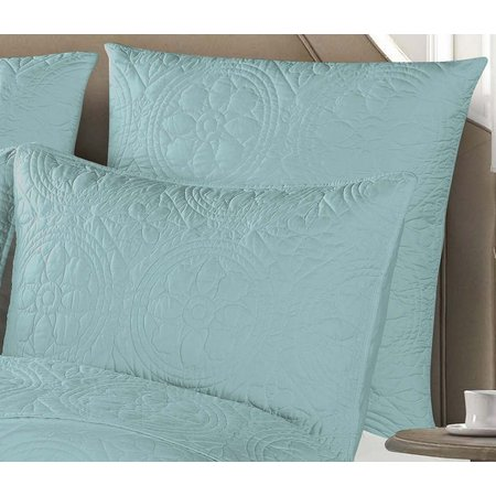 Design Source Mediterranean Tiles Euro Pillow Sham