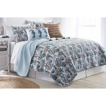 Elise & James Home Clear Water Quilt Set