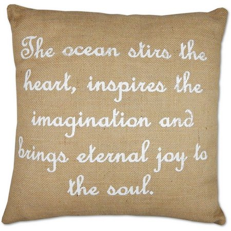 Elise & James Home The Ocean Stirs Pillow