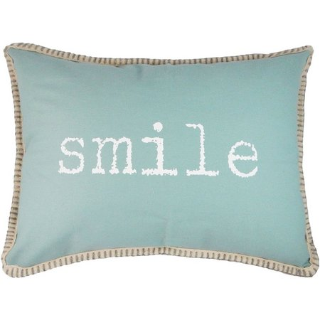 Elise & James Home Caribbean Starfish Smile Pillow