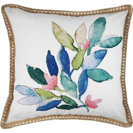 Elise & James Manus Watercolor Decorative Pillow