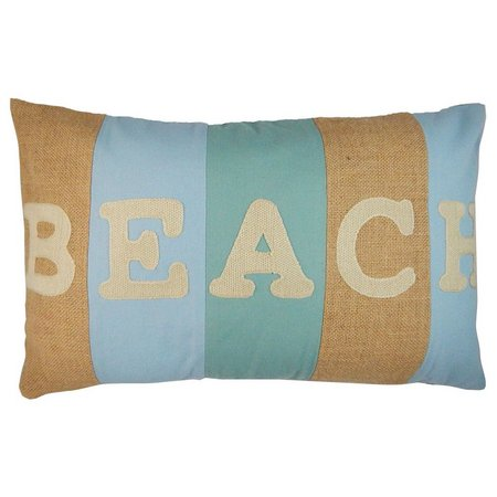 Elise & James Home Beach Stripe Decorative Pillow