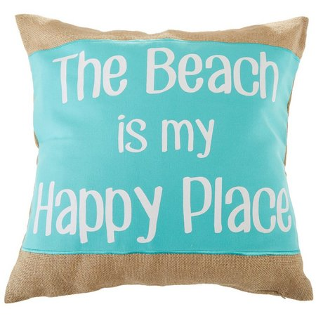 Coastal Home Beach Is My Happy Place Decorative