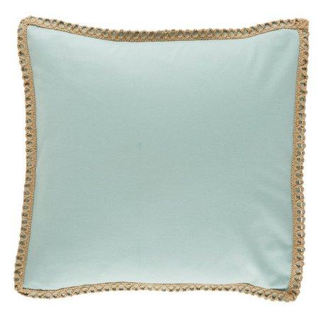 Elise & James Home Large Twine Decorative Pillow