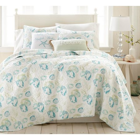 Elise & James Home Carmel Shells Quilt Set