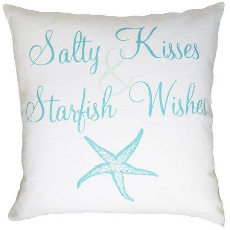 Elise & James Home Salty Kisses Decorative Pillow