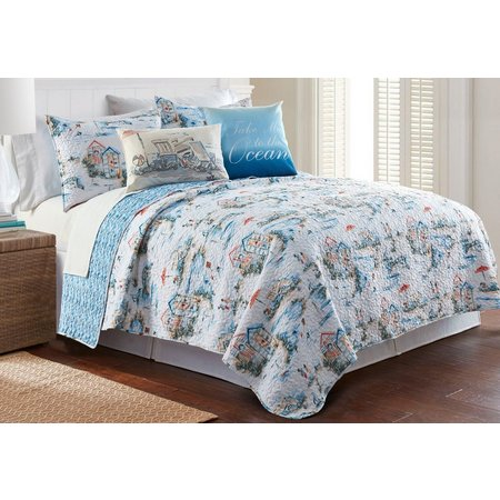 Elise & James Home Beach Club Quilt Set