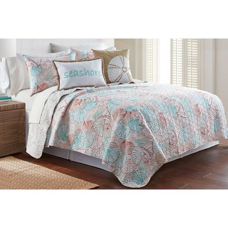 New! Elise & James Home Shell Beach Quilt