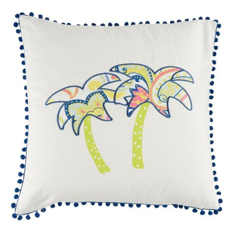 Elise & James Home Two Palm Trees Pillow