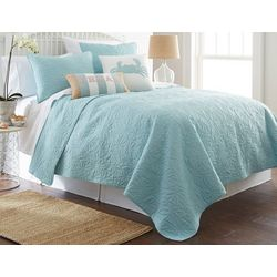 Elise & James Home Kamala Leaf Quilt Set