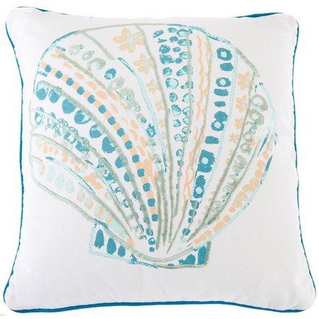 Elise & James Home Evander Shell Decorative Pillow