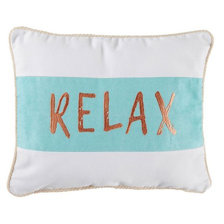 Elise & James Home Relax Decorative Pillow