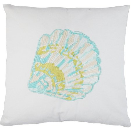 Elise & James Home Embroidered Shell Pillow