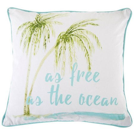 Red Pineapple As Free As The Ocean Decorative