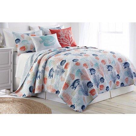 Elise & James Home Floreana Island Quilt Set