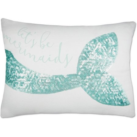 Elise & James Home Let's Be Mermaids Pillow