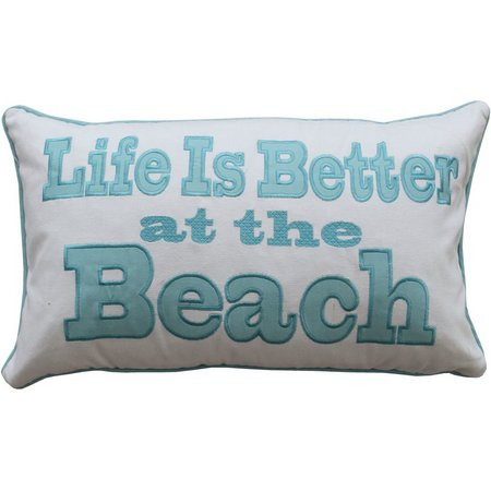 Greenland Home Fashions Life Is Better Pillow