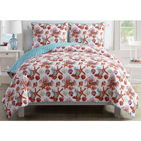 Seaside Villa Sealife II Quilt Set