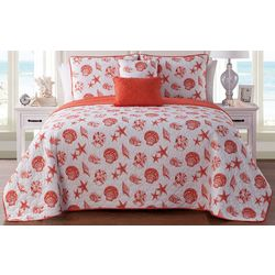 Seaside Villa Marco Island Reversible Quilt Set
