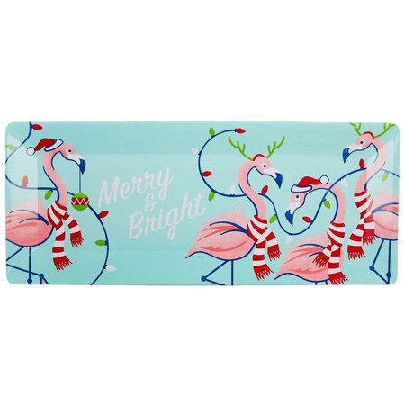 Brighten the Season Merry & Bright Platter