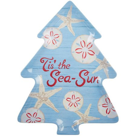 Brighten the Season Florida Christmas Tree Plate