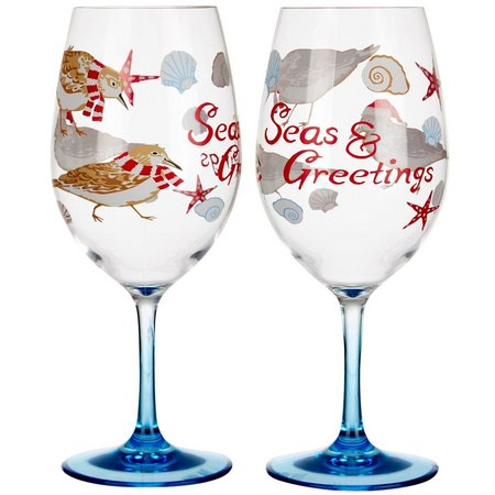 Brighten the Season 2-pc. Florida Christmas Goblets