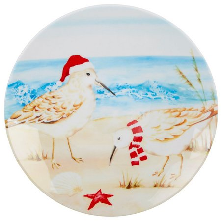 Brighten the Season Sandpiper Appetizer Plate