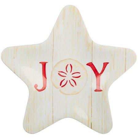 Brighten the Season Joy Starfish Plate