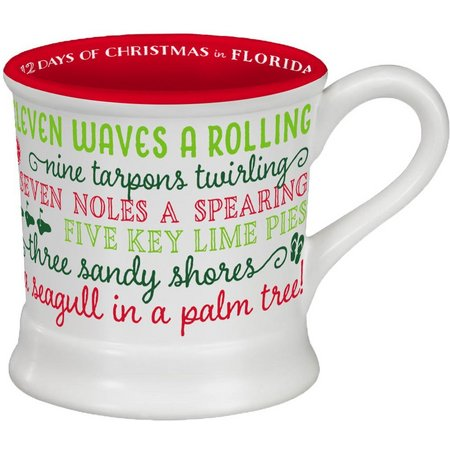 Occasionally Made 14 oz. Holiday Florida Mug