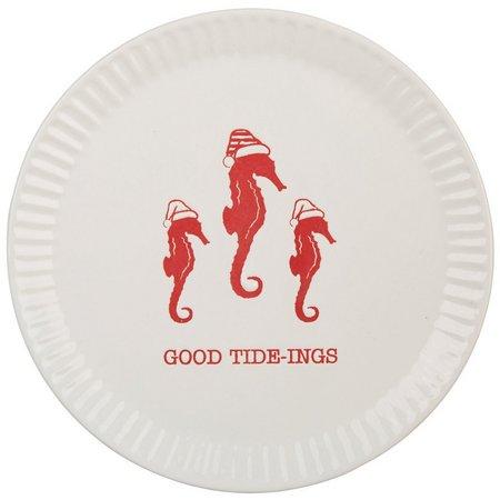 Brighten The Season Good Tide-Ings Appetizer Plate