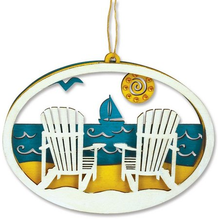 Cape Shore Adirondack Chair Laser Cut Ornament