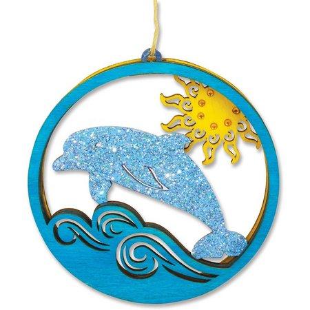 Cape Shore Dolphin Laser Cut Ornament