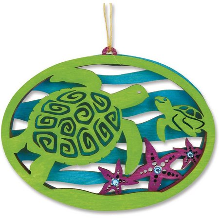 Cape Shore Sea Turtle Laser Cut Ornament
