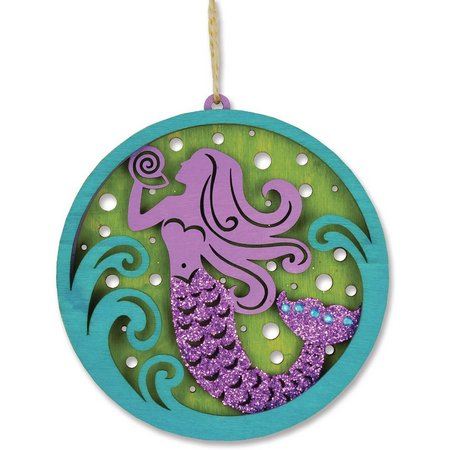 Cape Shore Mermaid Laser Cut Ornament