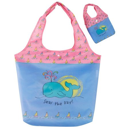 Cape Shore Whale Travel Tote