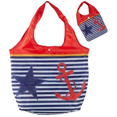 Cape Shore Nautical Chic Travel Tote