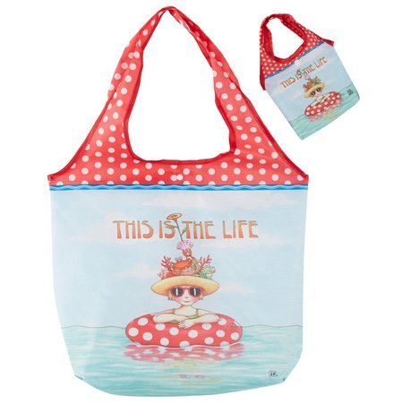Cape Shore This Is The Life Travel Tote