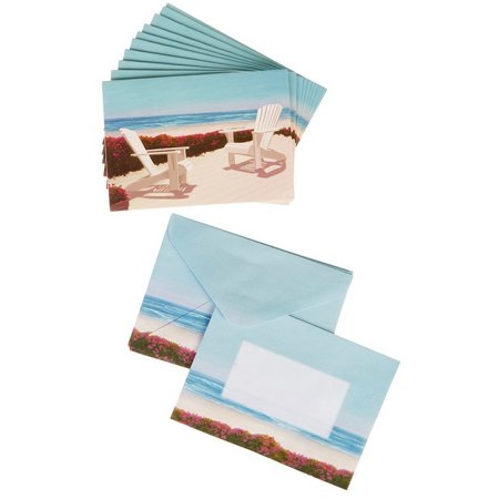 Cape Shore Adirondack Chairs Boxed Note Cards