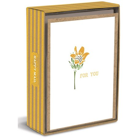 Graphique Flower Boxed Note Cards