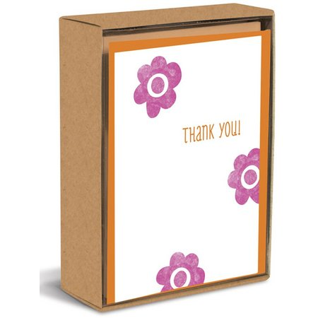 Graphique Flower Thank You Boxed Note Cards